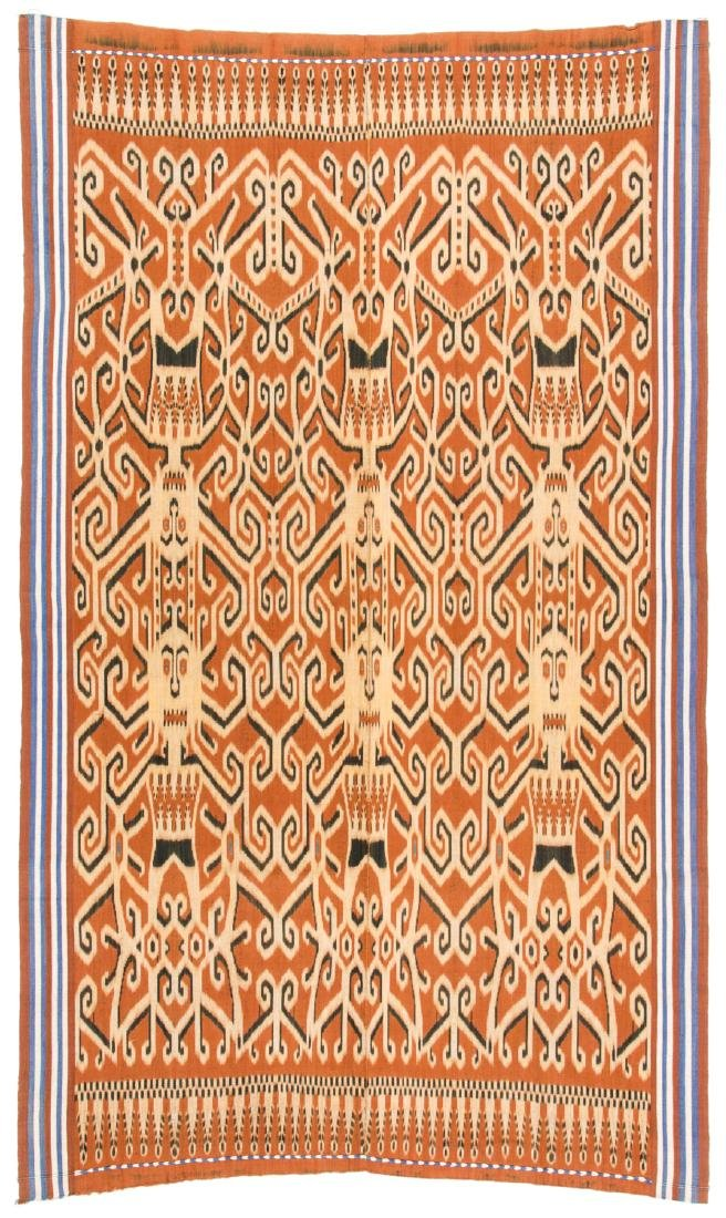Ibn Dayak/Man's Ceremonial Cloth, Borneo, Indonesia