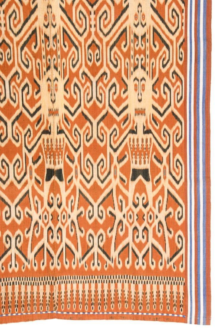 Ibn Dayak/Man's Ceremonial Cloth, Borneo, Indonesia - 2