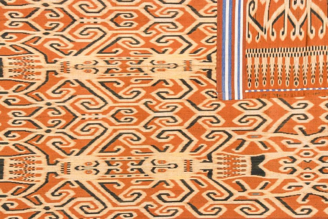 Ibn Dayak/Man's Ceremonial Cloth, Borneo, Indonesia - 3