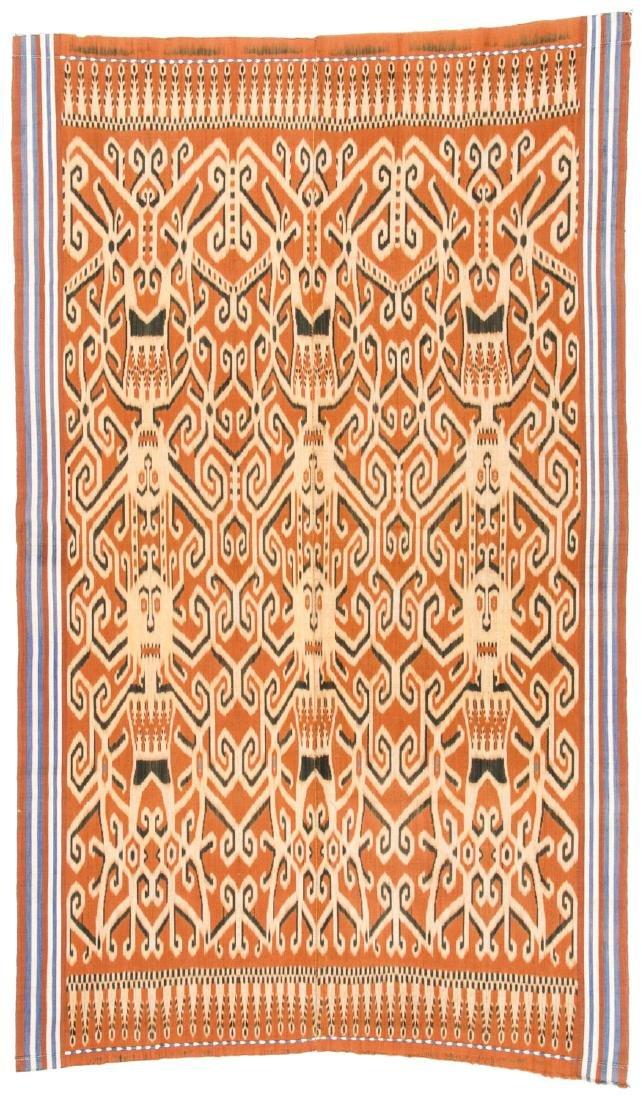 Ibn Dayak/Man's Ceremonial Cloth, Borneo, Indonesia - 4