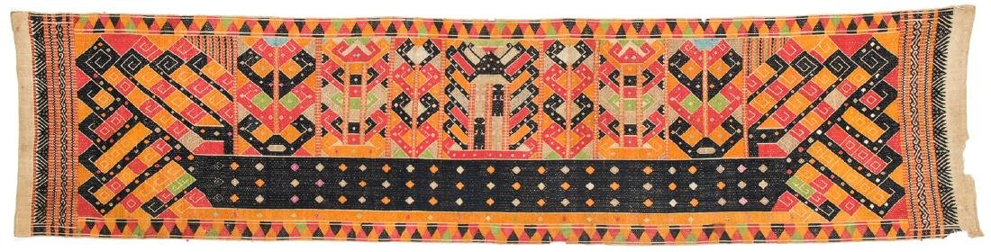 Fine Antique Pelepai/Ceremonial Cloth, South Sumatra,