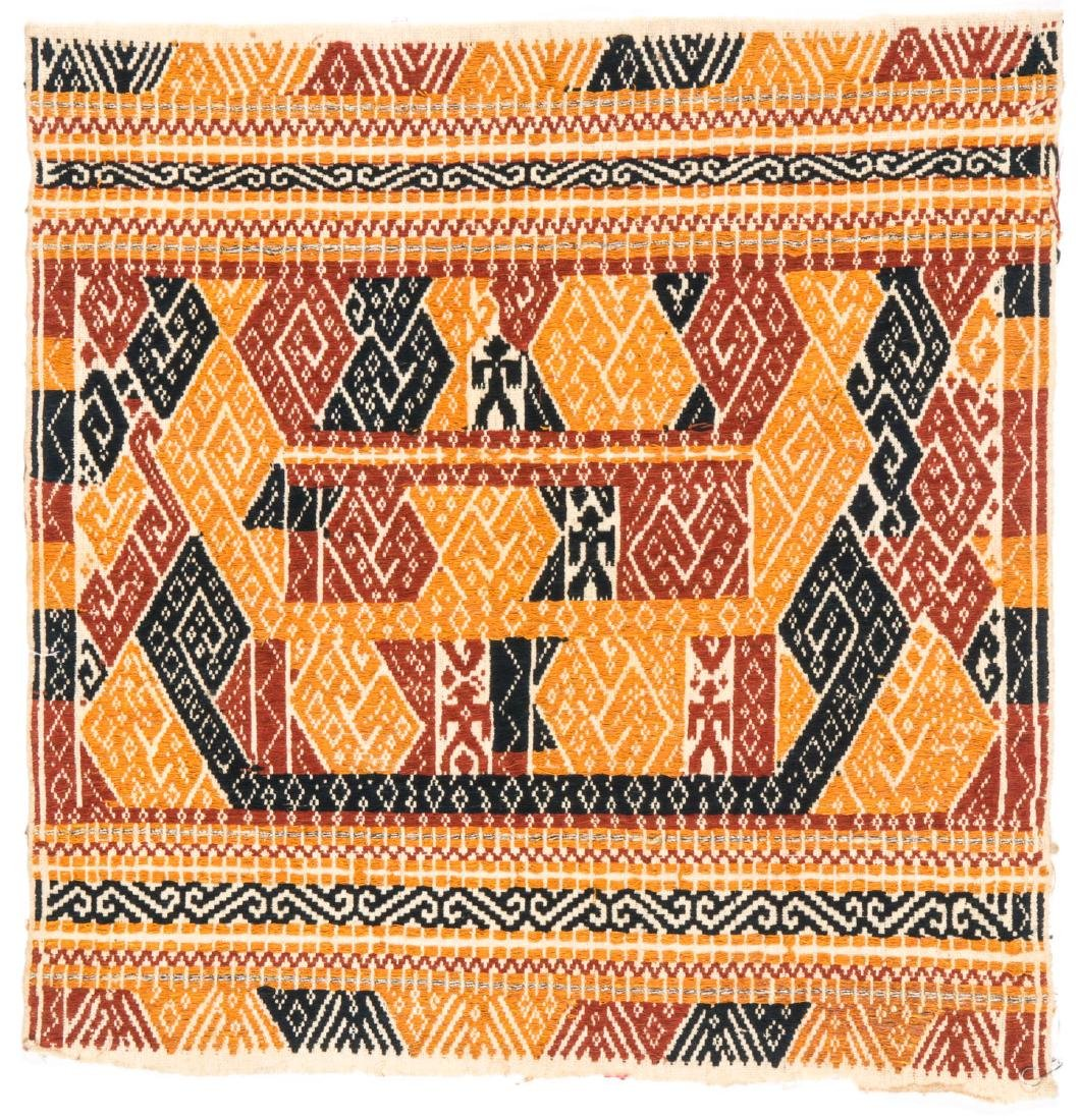 Tampan Ceremonial Cloth, Sumatra, Indonesia, Early 20th