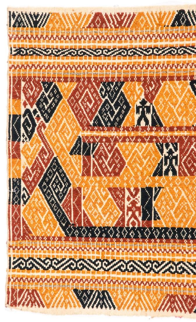 Tampan Ceremonial Cloth, Sumatra, Indonesia, Early 20th - 2