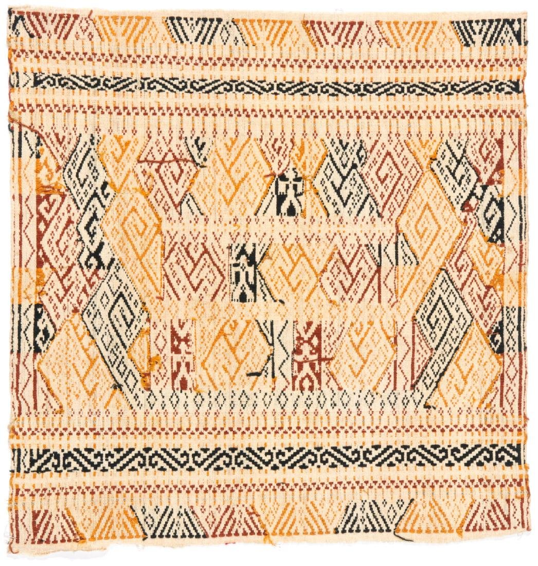 Tampan Ceremonial Cloth, Sumatra, Indonesia, Early 20th - 4