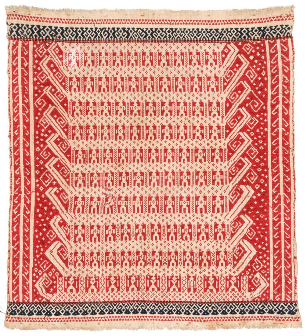2 Tampan Ceremonial Cloths, Sumatra, Indonesia - 2