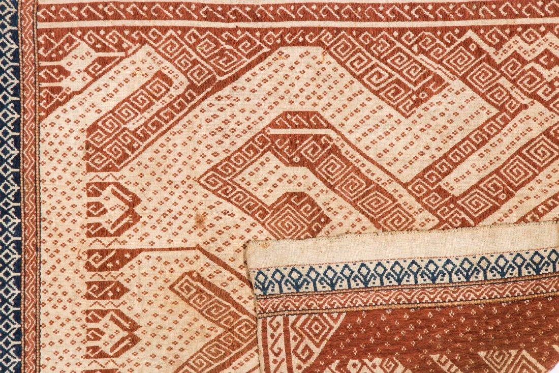2 Tampan Ceremonial Cloths, Sumatra, Indonesia - 3