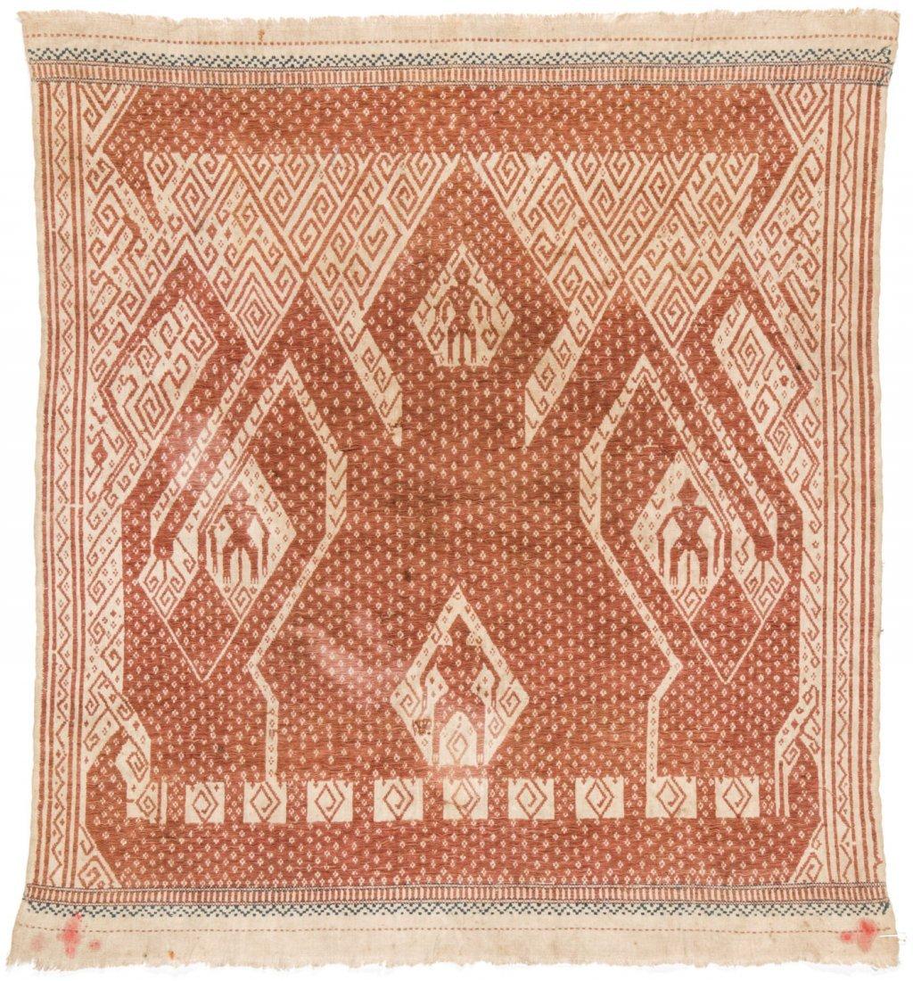 2 Tampan Ceremonial Cloths, Sumatra, Indonesia - 4