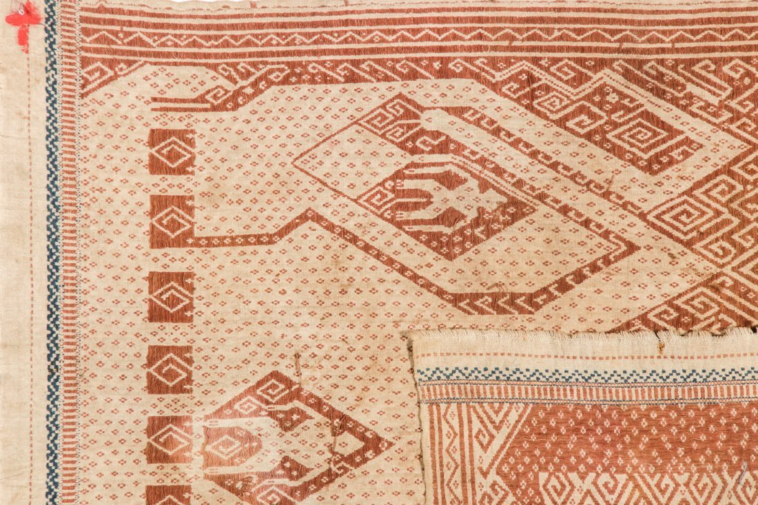 2 Tampan Ceremonial Cloths, Sumatra, Indonesia - 5
