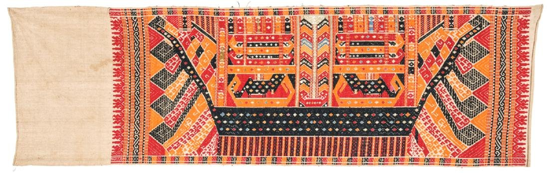 Tatibin/Ceremonial Cloth, South Sumatra,