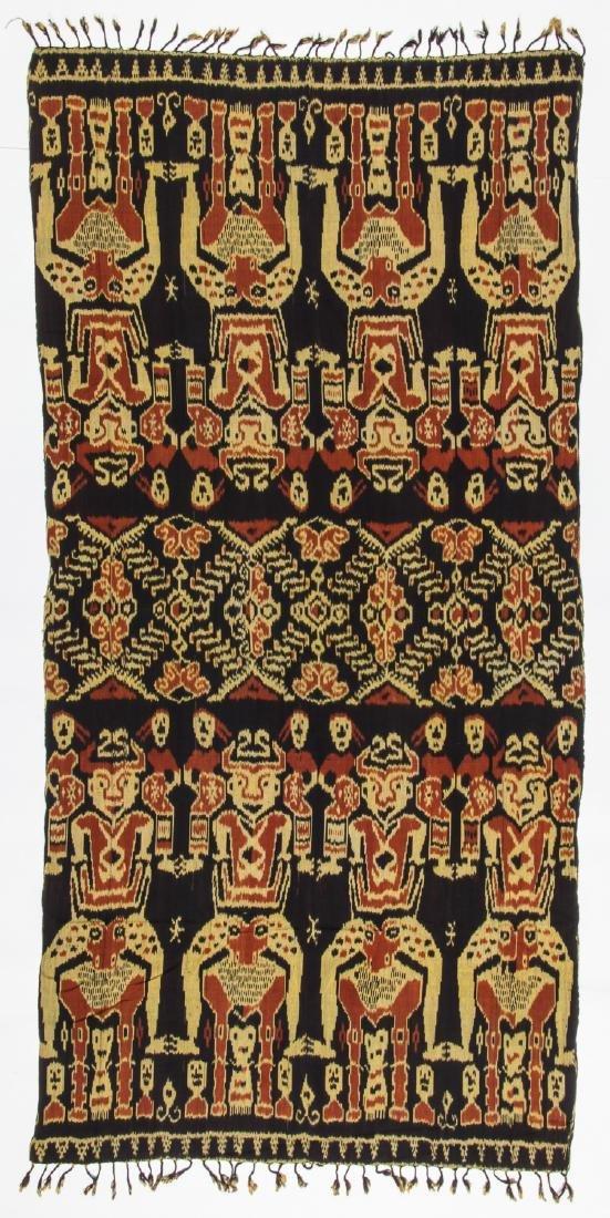 3 Vintage Indonesian Ikat Textiles - 2