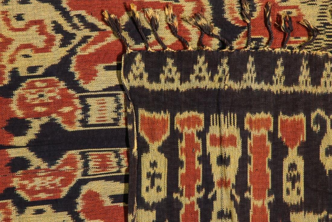 3 Vintage Indonesian Ikat Textiles - 3