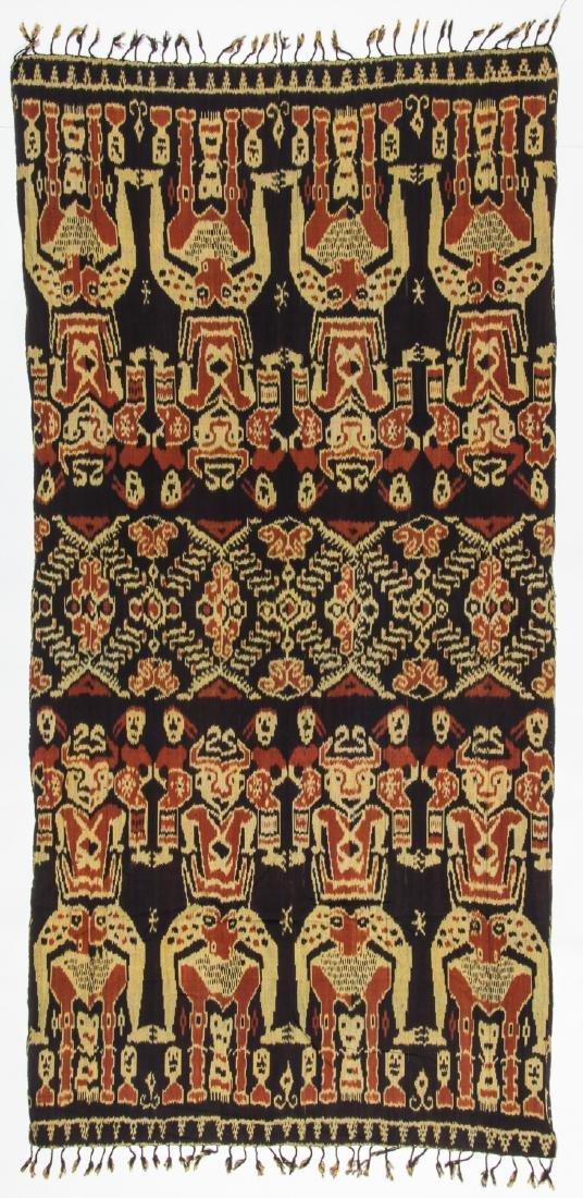 3 Vintage Indonesian Ikat Textiles - 4