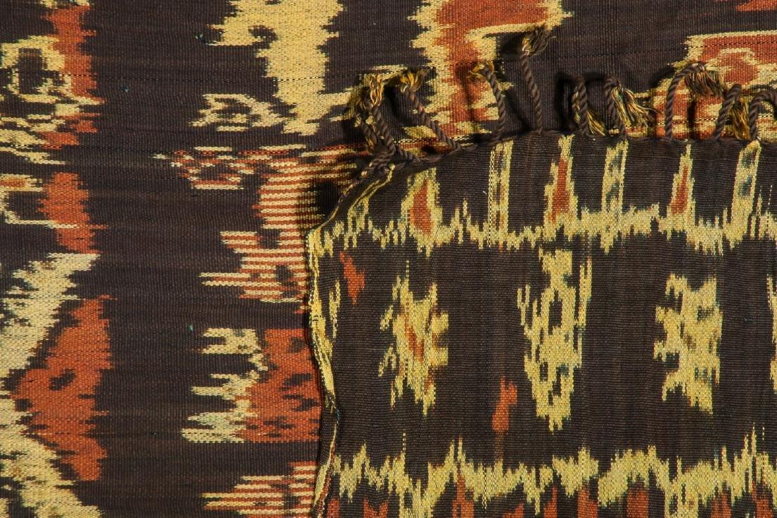 3 Vintage Indonesian Ikat Textiles - 6