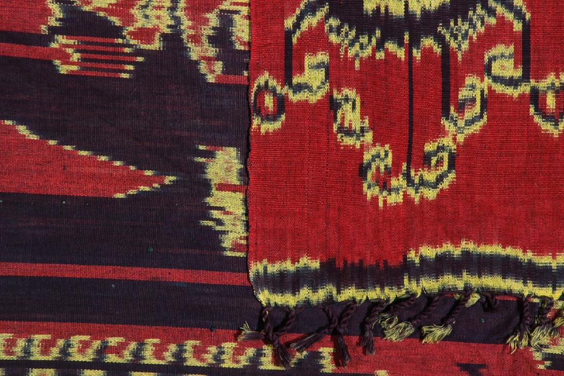 3 Vintage Indonesian Ikat Textiles - 9