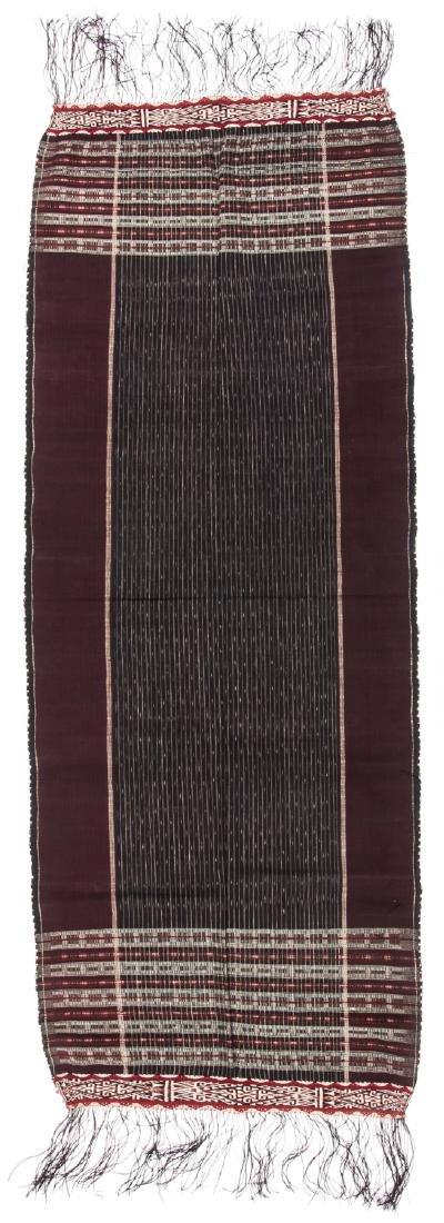 Battak Shoulder Cloth, North Sumatra, Mid 20th c