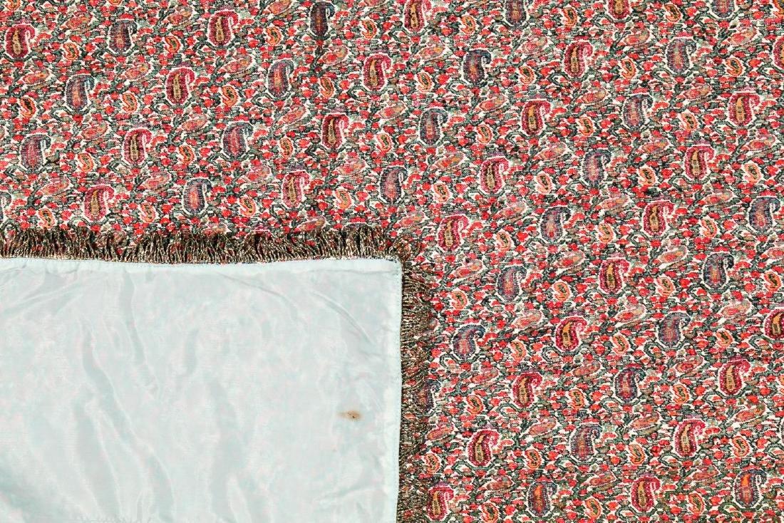 19th C. Termeh Wool Boteh Cloth, Persia - 4