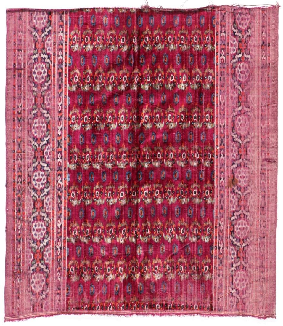 Antique Persian Velvet Ikat