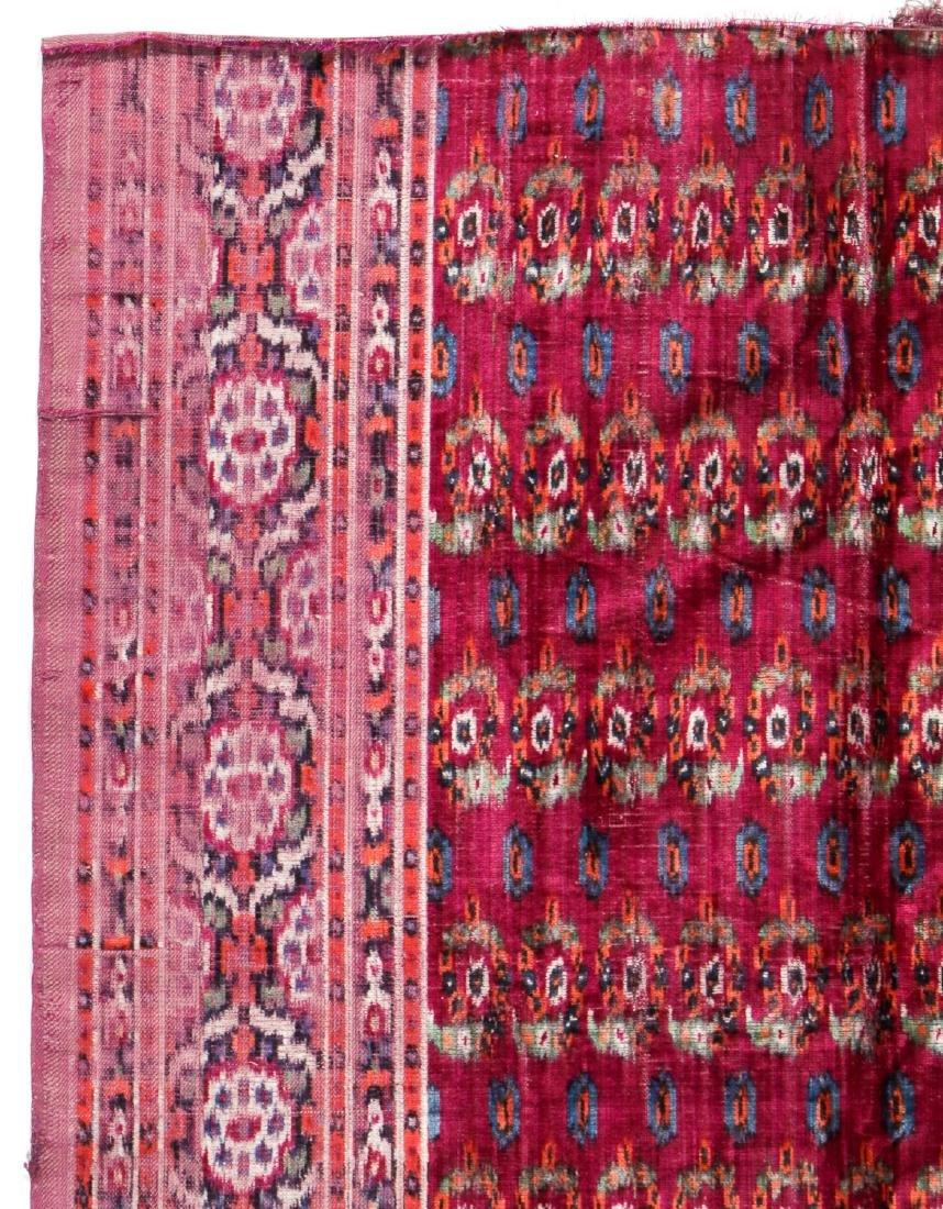 Antique Persian Velvet Ikat - 2
