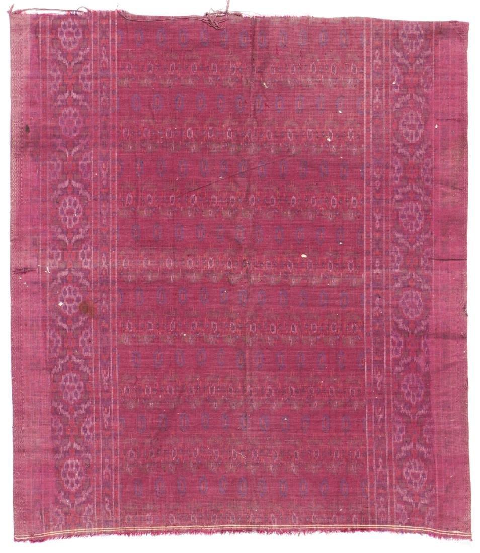 Antique Persian Velvet Ikat - 4