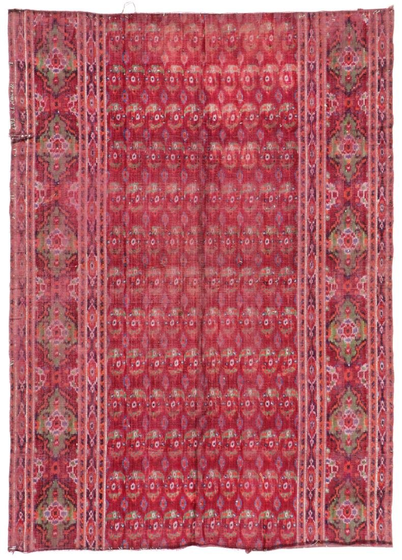Antique Persian Velvet Ikat