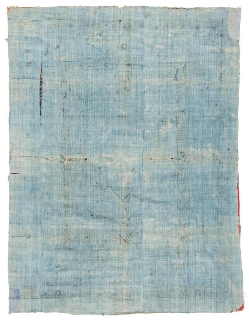 18th C. Persian Resht Embroidery: 66'' x 49'' - 4