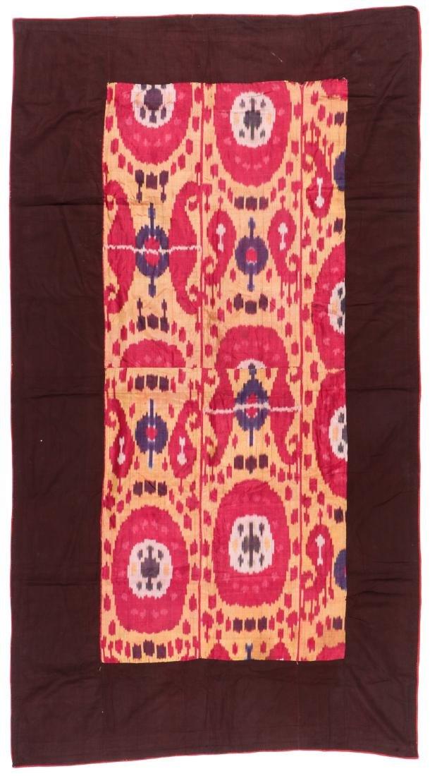 Antique Uzbek Silk Ikat