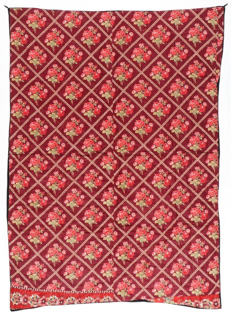 Antique Central Asian Bokhara Applique Quilt - 3