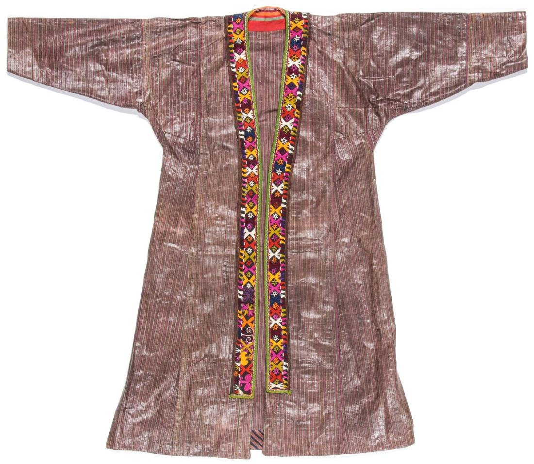 Antique Tashkent Silk/Cotton Woman's Robe