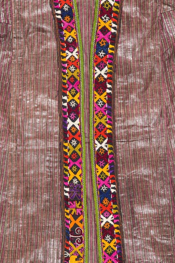 Antique Tashkent Silk/Cotton Woman's Robe - 3