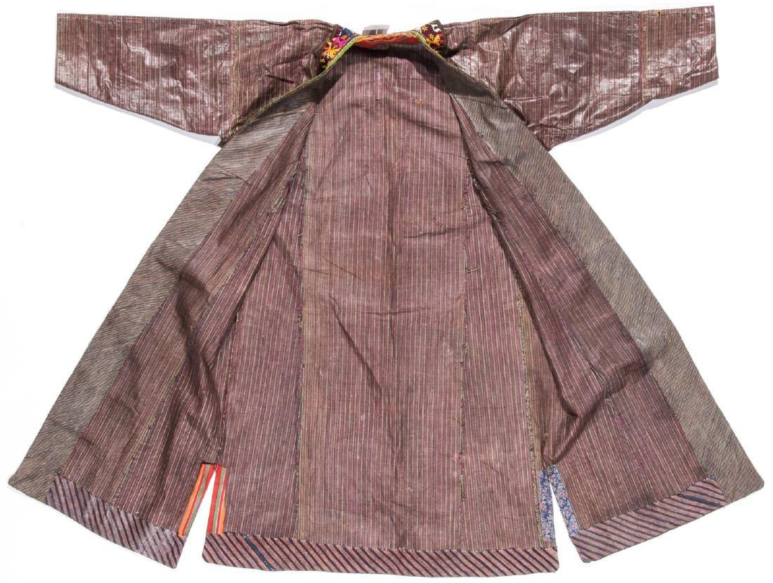 Antique Tashkent Silk/Cotton Woman's Robe - 4