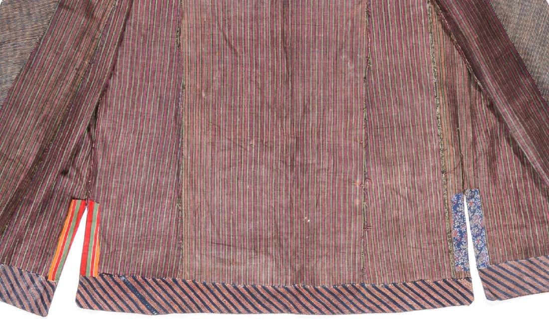 Antique Tashkent Silk/Cotton Woman's Robe - 5