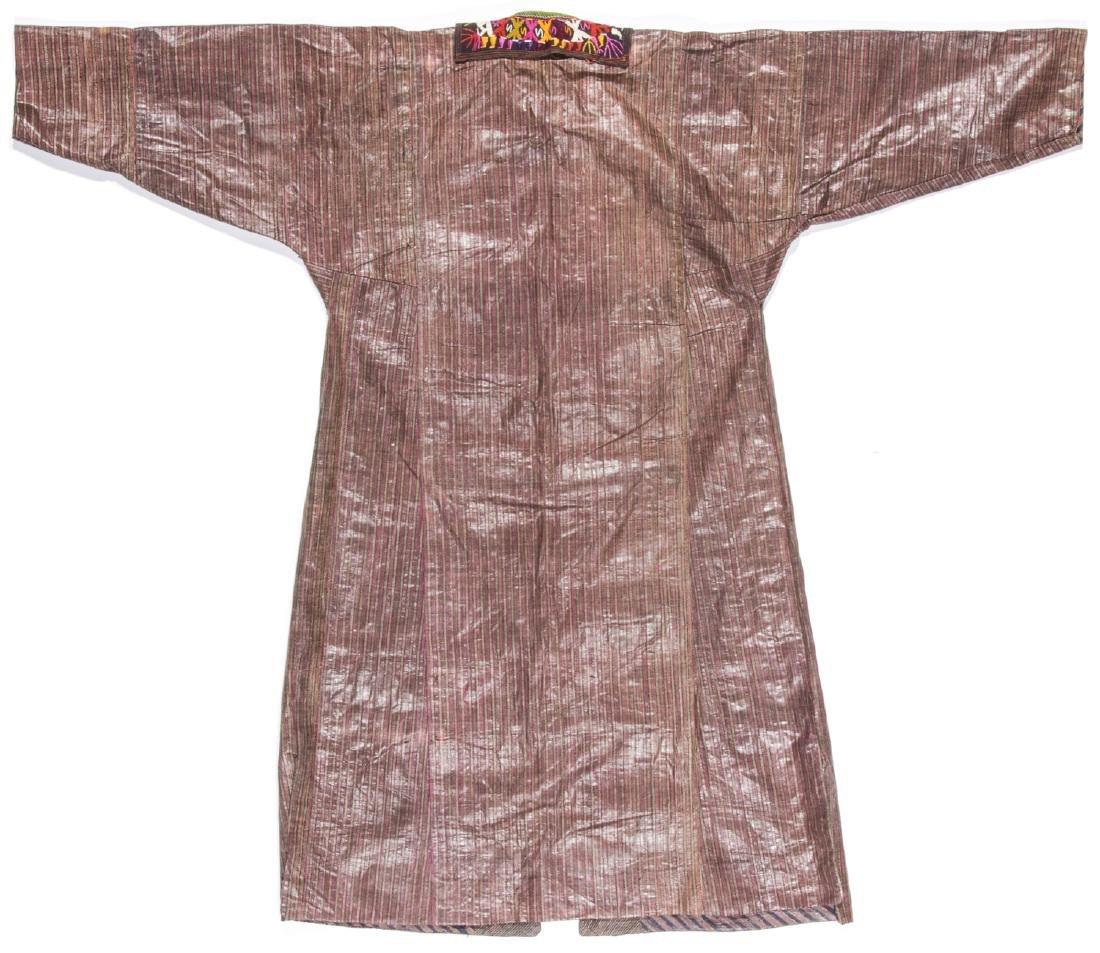 Antique Tashkent Silk/Cotton Woman's Robe - 6