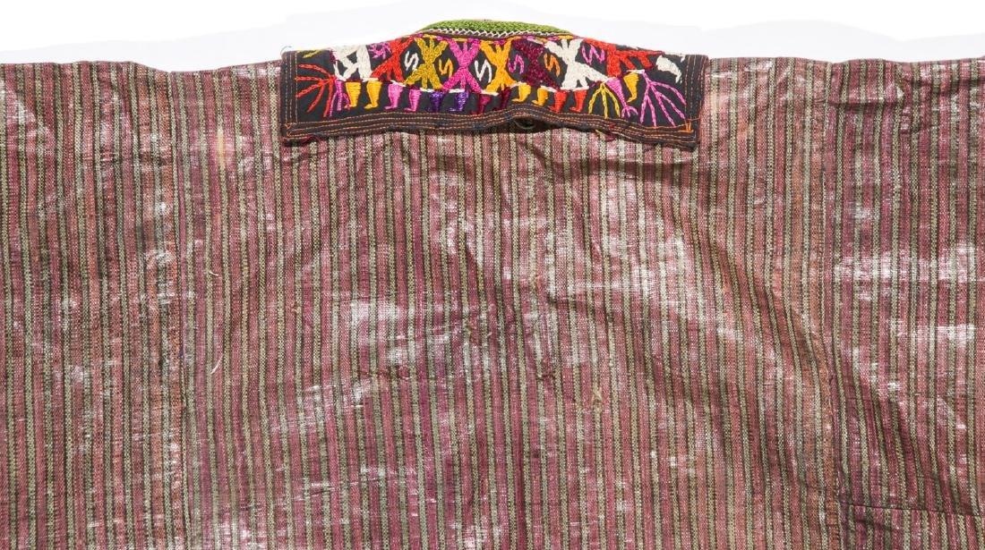 Antique Tashkent Silk/Cotton Woman's Robe - 7