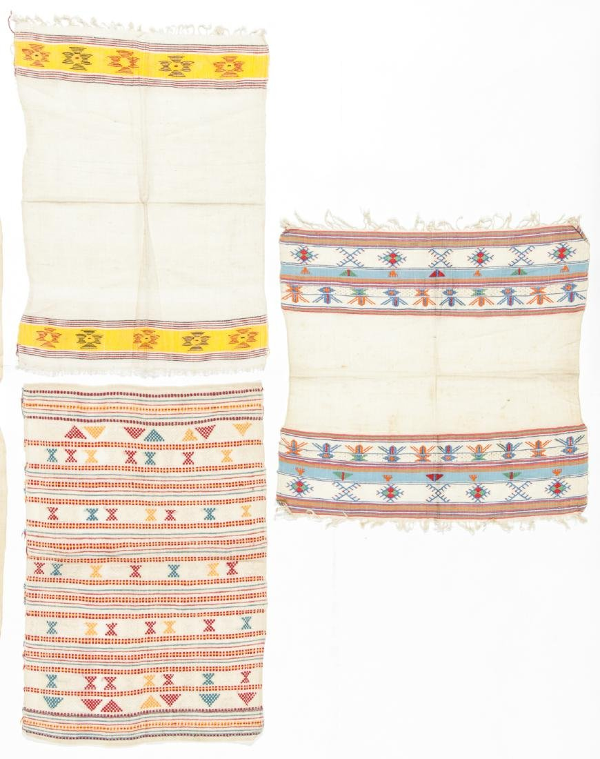 5 Antique Greek Island Textiles - 4
