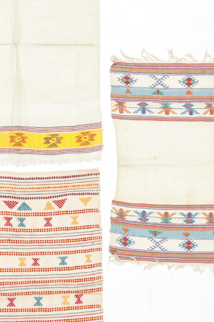 5 Antique Greek Island Textiles - 5