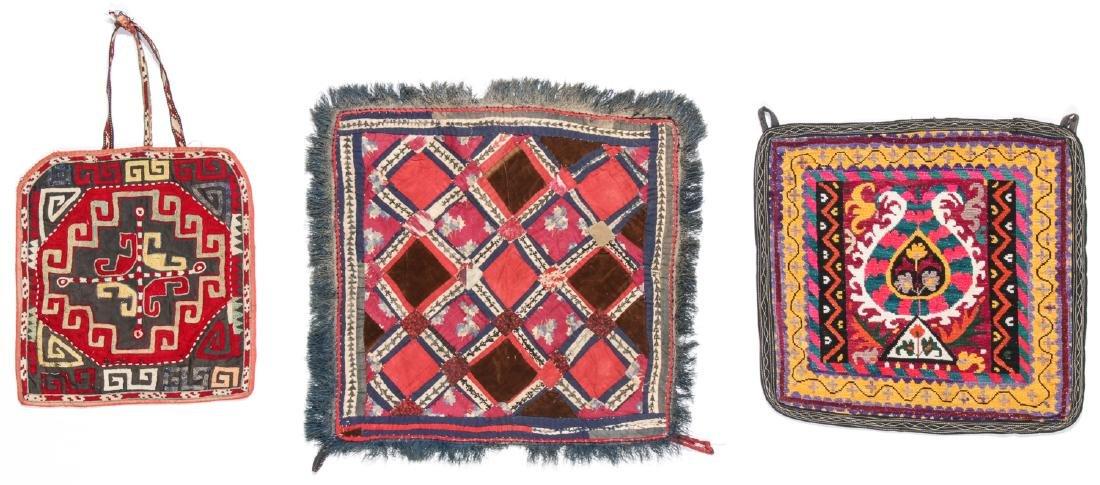 3 Central Asian Lakai Weavings