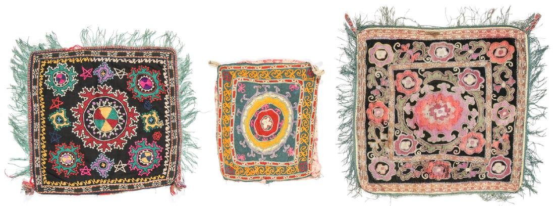 3 Small Uzbek Embroideries