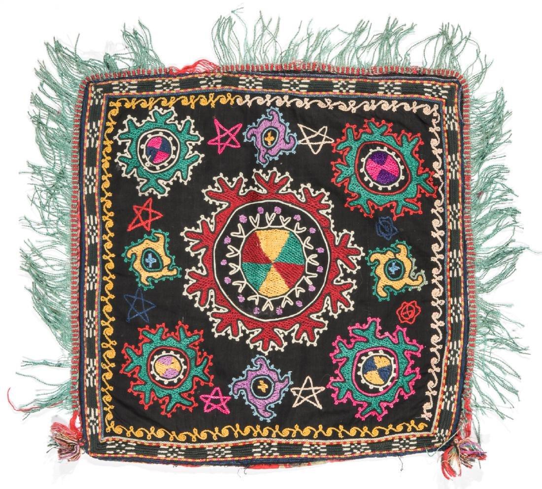 3 Small Uzbek Embroideries - 2