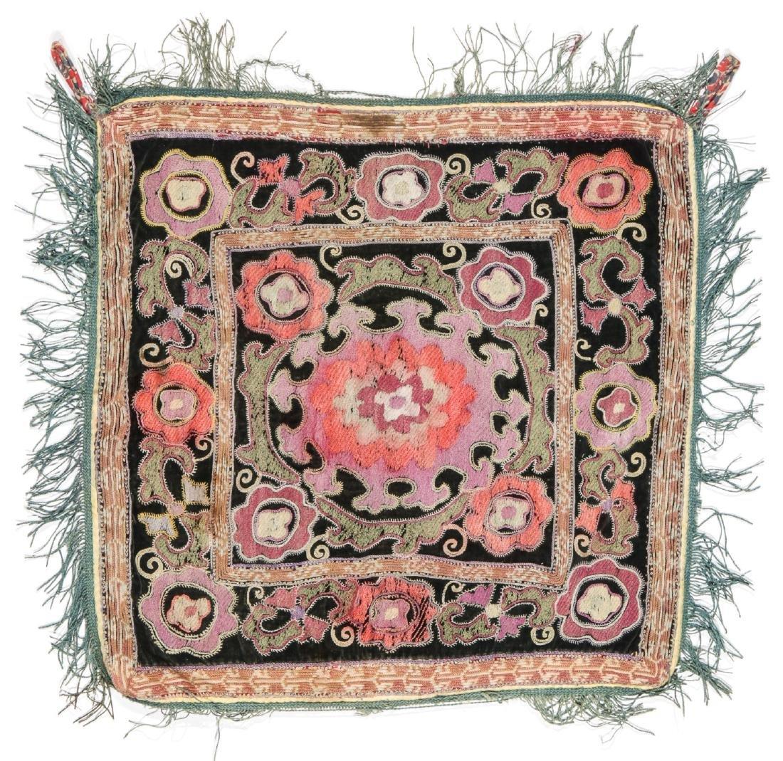 3 Small Uzbek Embroideries - 4
