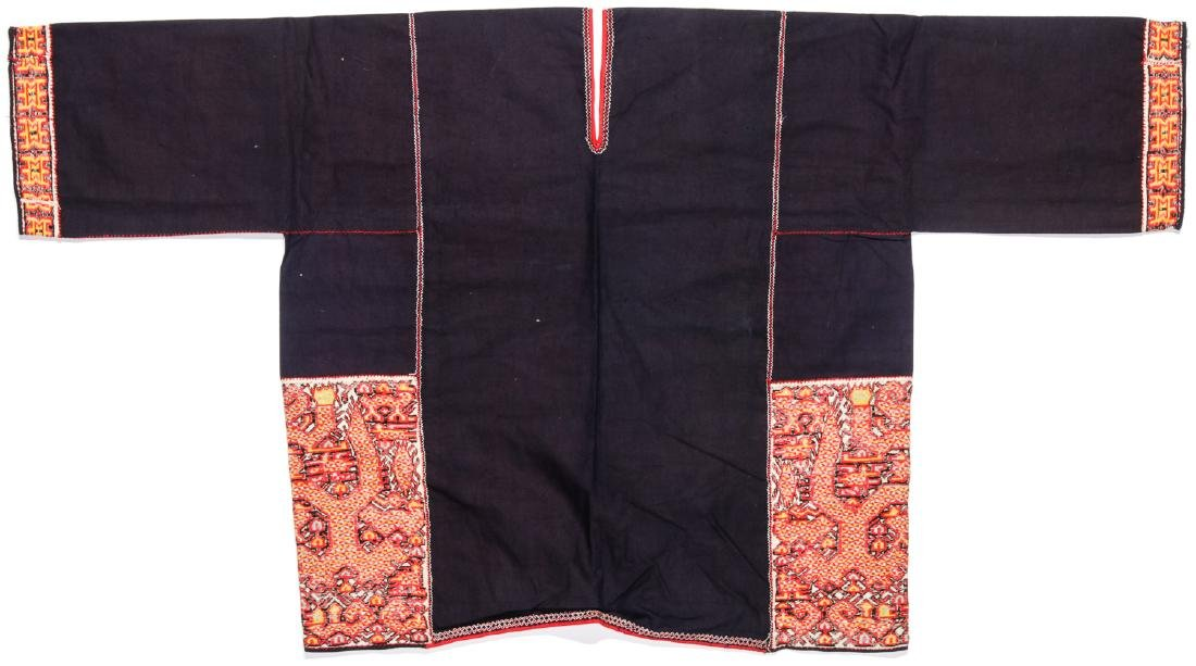 Two Embroidered Textiles, Li People, Hainan, China - 2