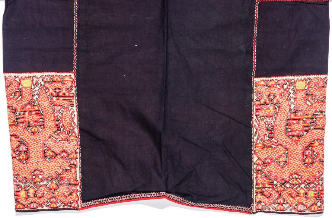 Two Embroidered Textiles, Li People, Hainan, China - 4