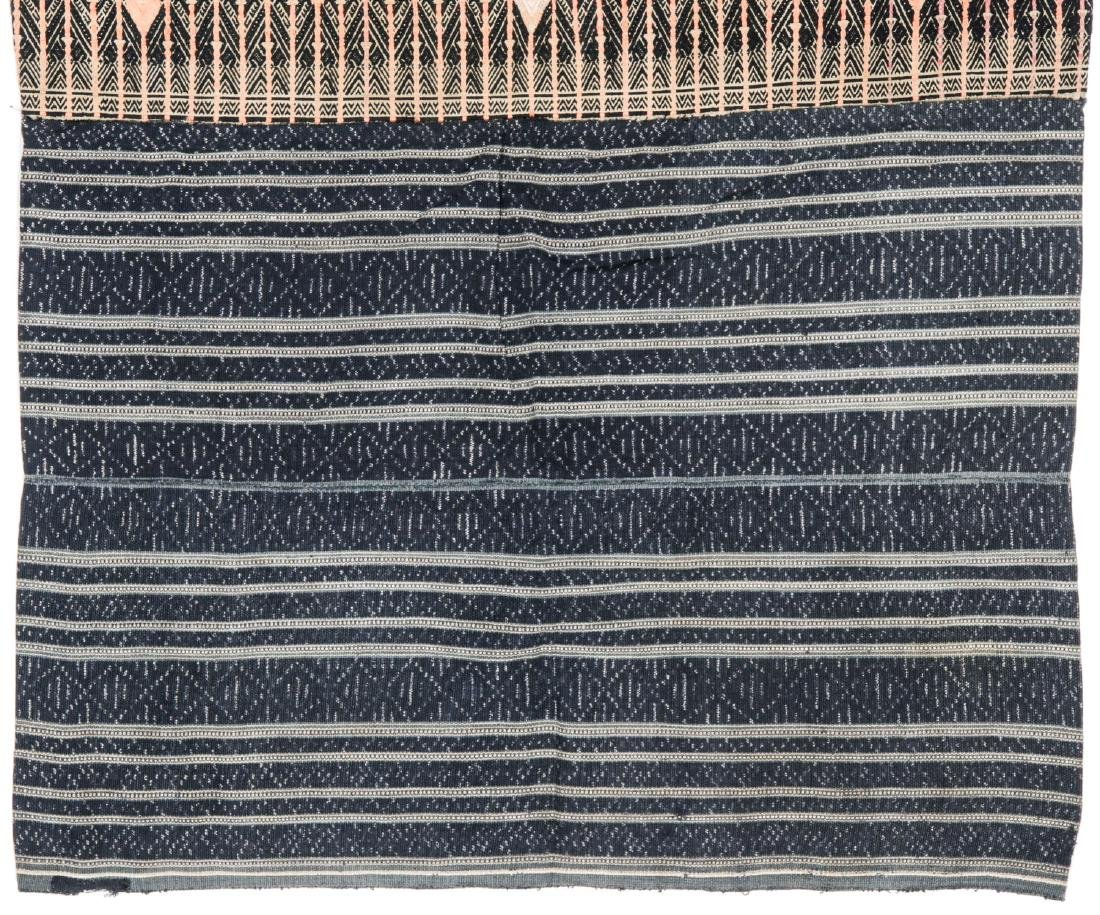 Two Embroidered Textiles, Li People, Hainan, China - 6