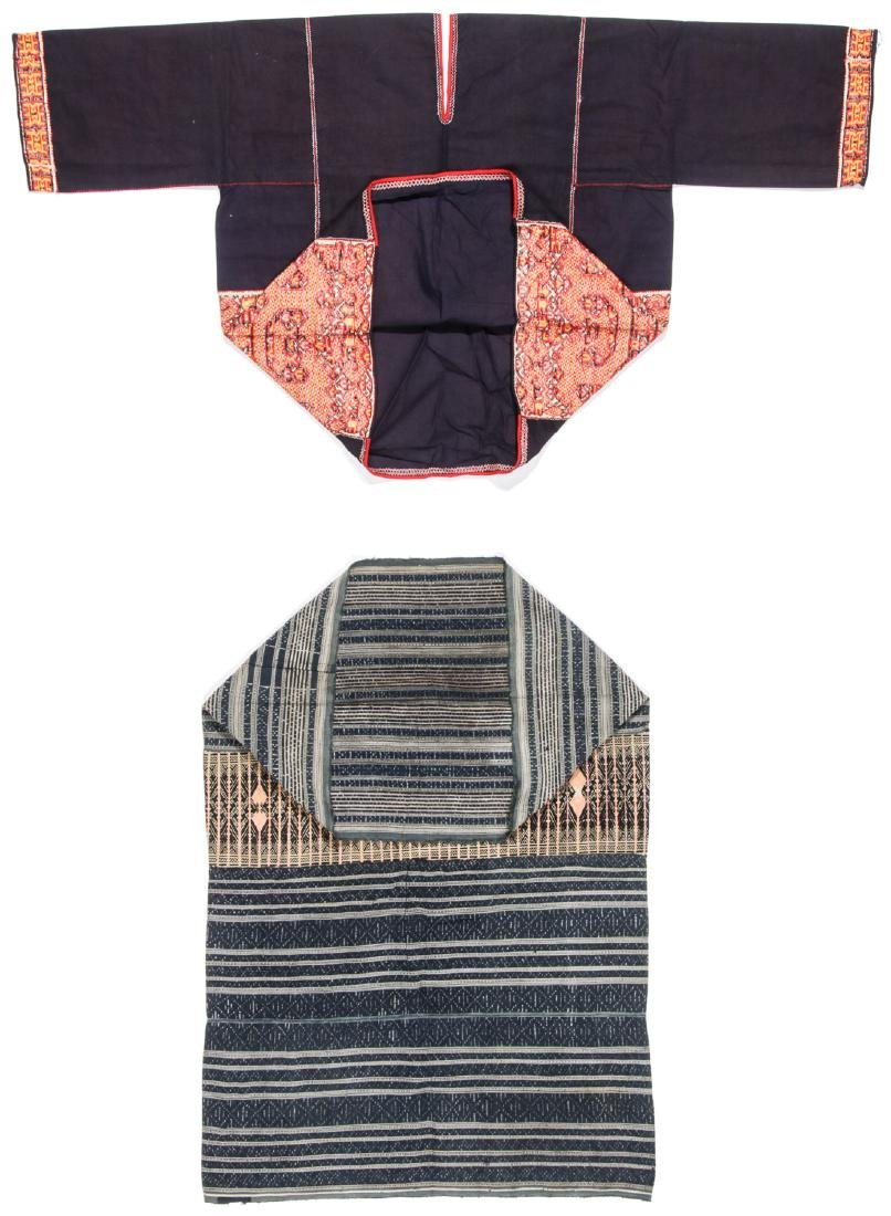 Two Embroidered Textiles, Li People, Hainan, China - 7
