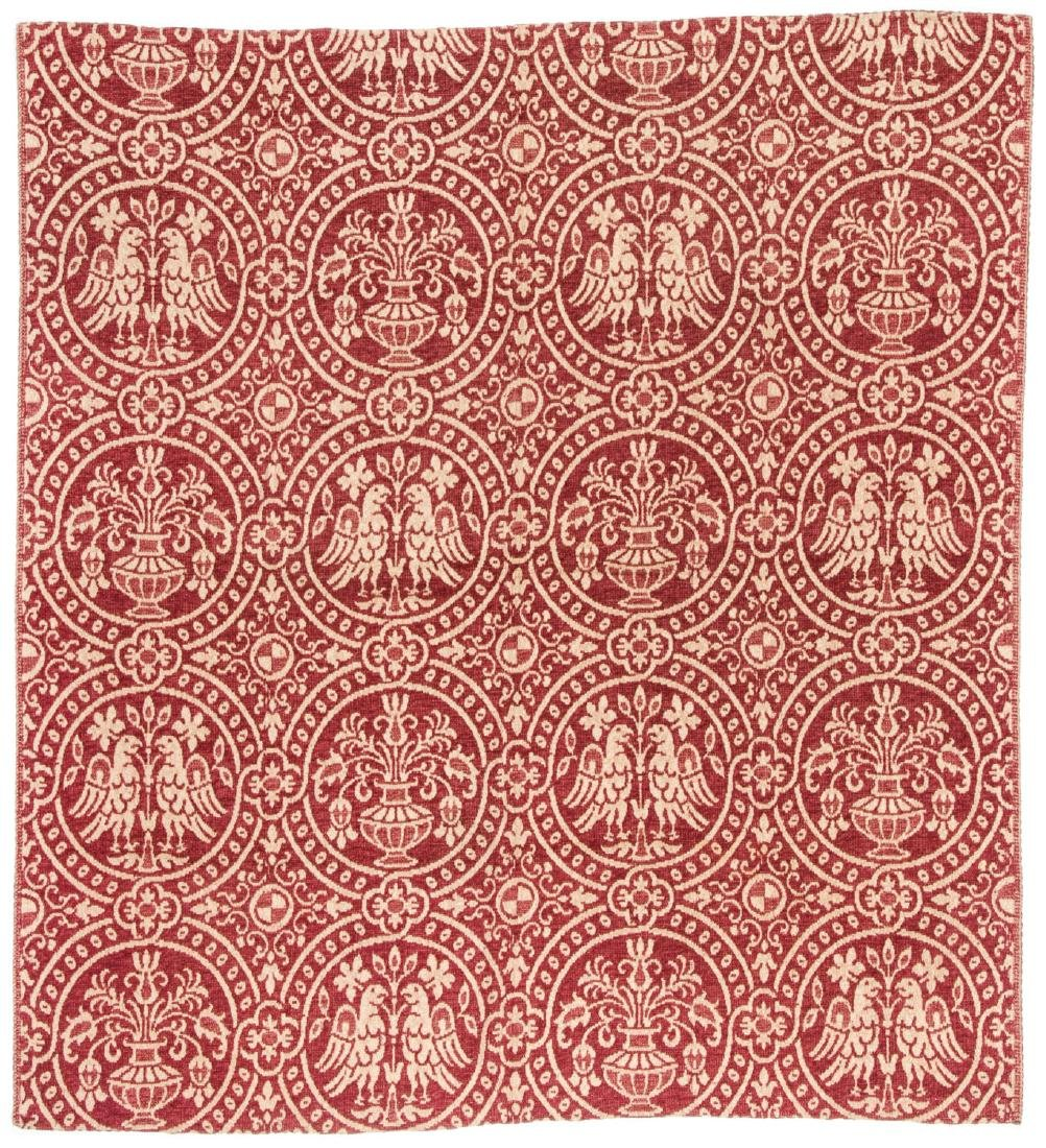 Antique Spanish Wool Textile Cloth, Circa 1800