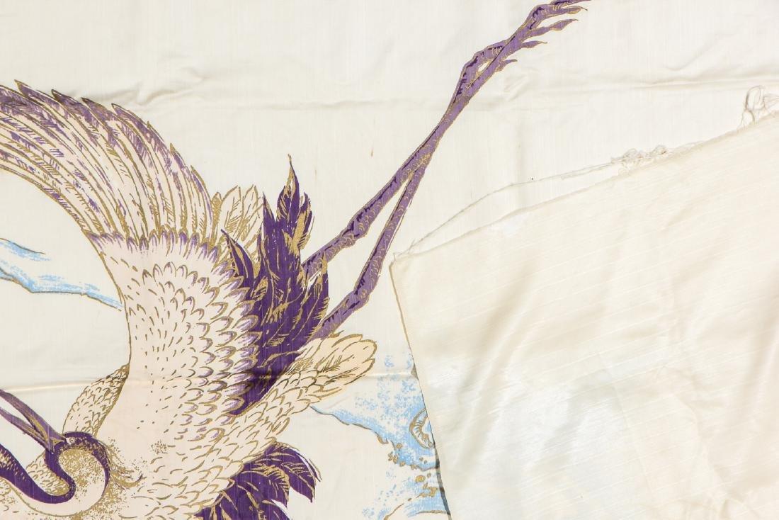 Antique Japanese Silk Banner - 3