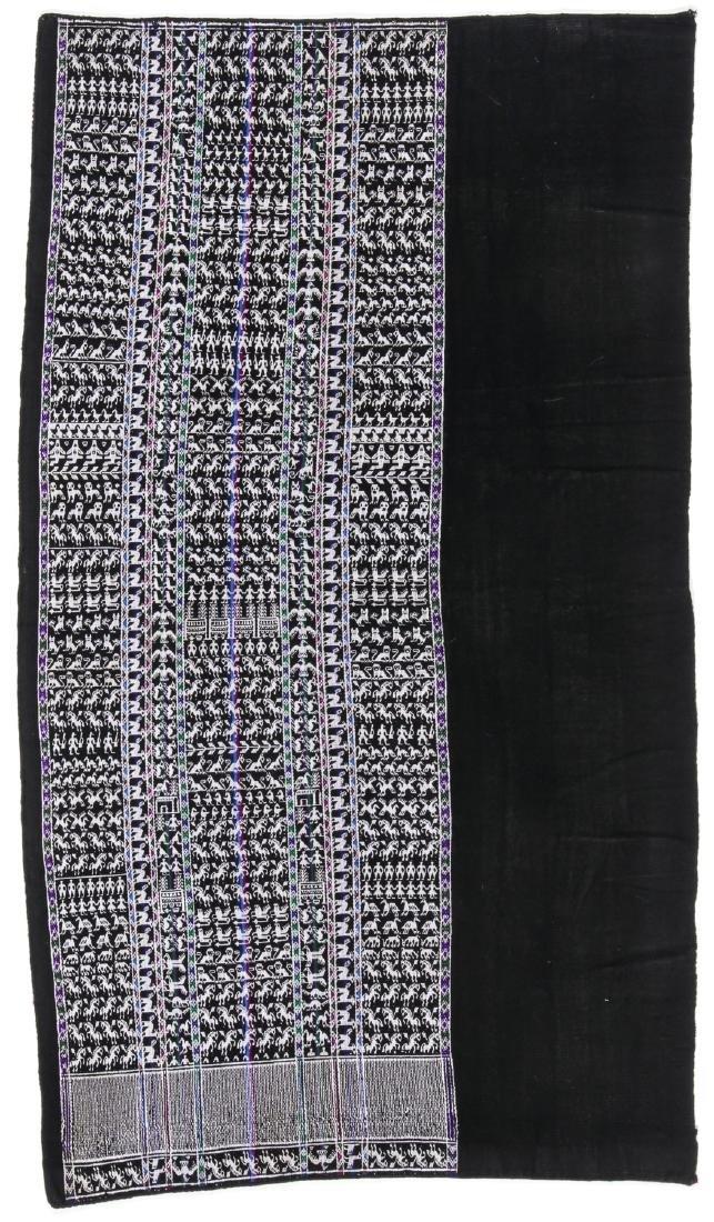 Aksu/Skirt, Tarabuco Region, Bolivia, Mid 20th C. - 4