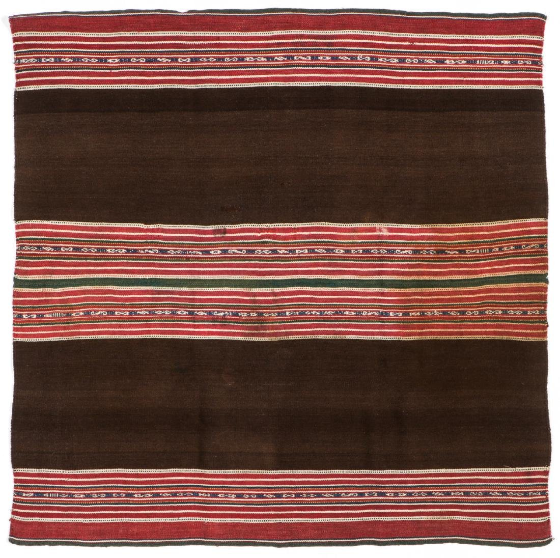 Collection of Five Antique Bolivian Textile Weavings - 2