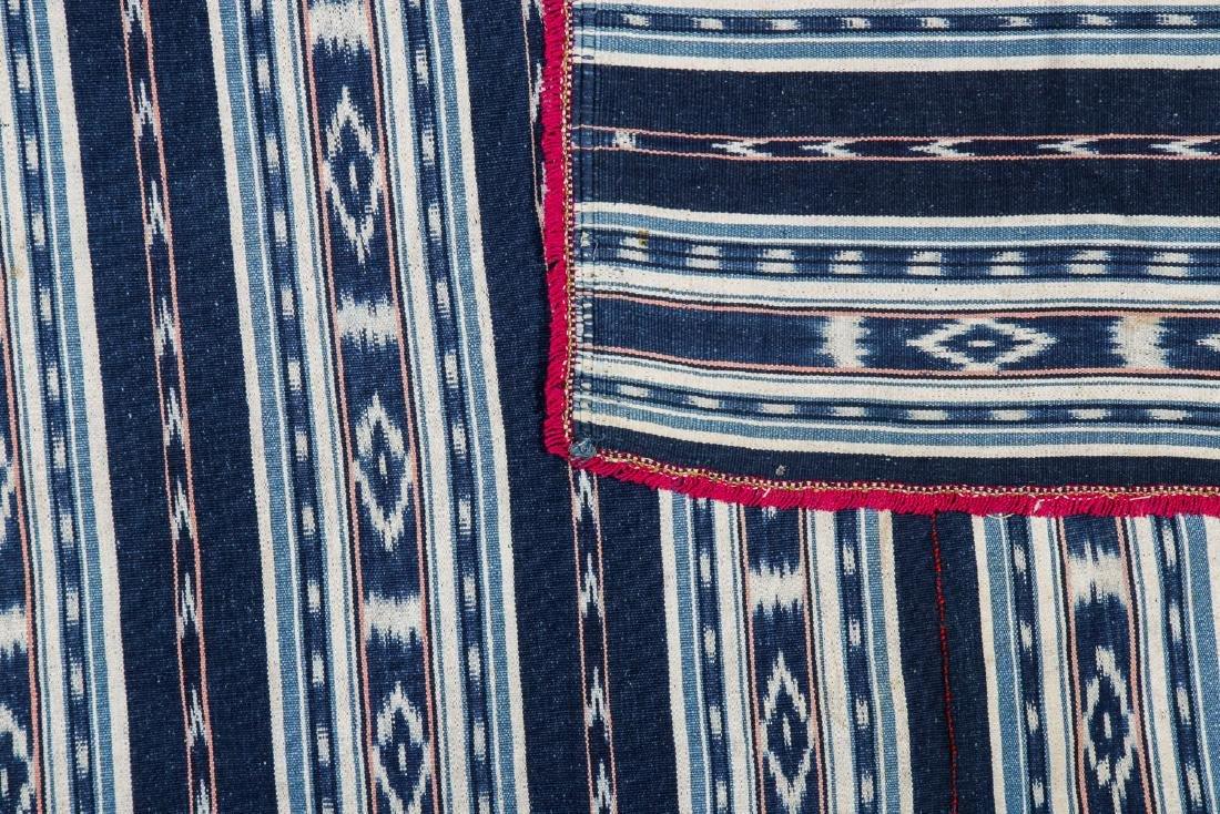 Poncho-Cuenca, Ecuador, Mid 20th c.: 50'' x 50'' - 2