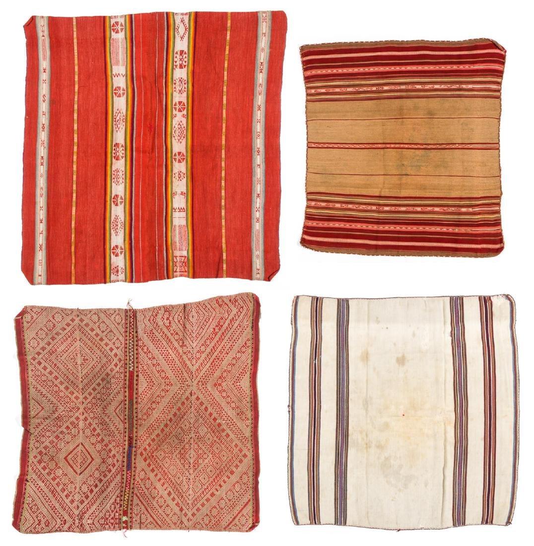 4 Antique Peruvian Textile Weavings