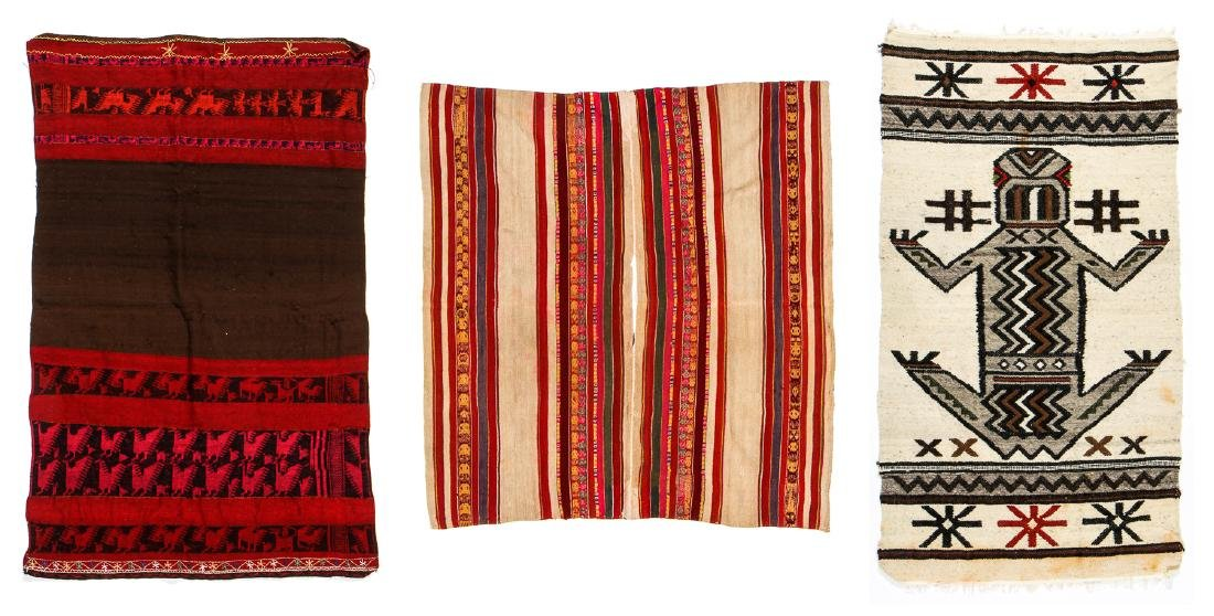 3 South American Textiles